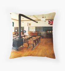 No. 14 Schoolhouse (Petrolia Discovery) Throw Pillow