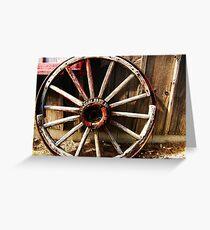 Wagon Wheel (Petrolia Discovery) Greeting Card