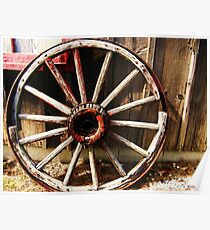 Wagon Wheel (Petrolia Discovery) Poster