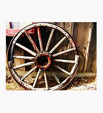 Wagon Wheel (Petrolia Discovery) Photographic Print