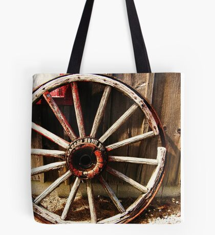 Wagon Wheel (Petrolia Discovery) Tote Bag