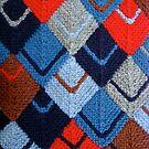 Modular knit by Ann Baker