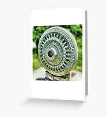 Dharma Chakra Greeting Card