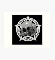 Skull Little Utopia Art Print