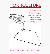 Practical Science for Beginners: Horticulture Photographic Print