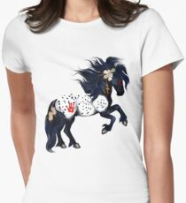 Appaloosa War Pony Women's Fitted T-Shirt