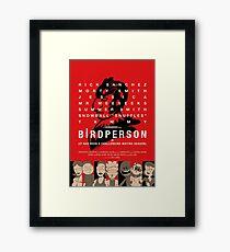 Bird Person Framed Print