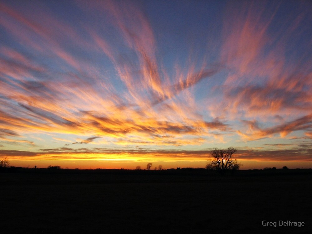 Cotton Candy Skies by Greg Belfrage