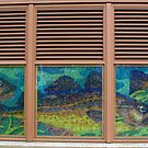 255 State Street Sea Glass Window. by Lee d'Entremont