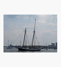 A Gorgeous Day on The Water. Photographic Print