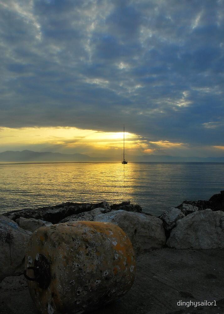 quiet light by dinghysailor1