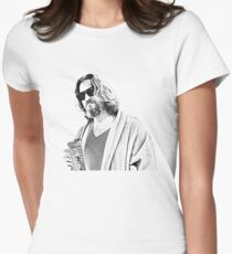 The Big Lebowski -The Dude Women's Fitted T-Shirt