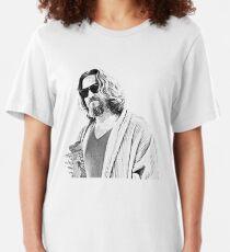 The Big Lebowski -The Dude Slim Fit T-Shirt