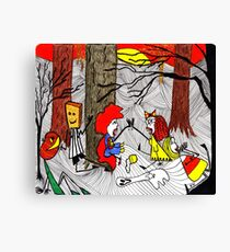 Phew, we made it! That was Fun!  Canvas Print