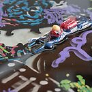 Photo of Finished Artwork Detail by Chicago Artist Gary Bradley by Gary Bradley