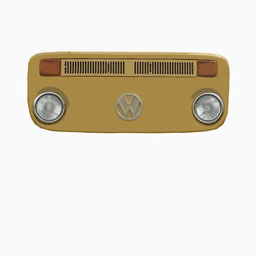 Mustard Kombi Face by alastairc