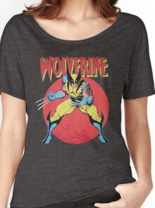 Wolverine Retro Comic Women's Relaxed Fit T-Shirt