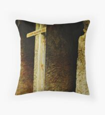 old bath changing rooms Throw Pillow