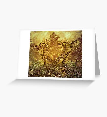 Centaurs Greeting Card