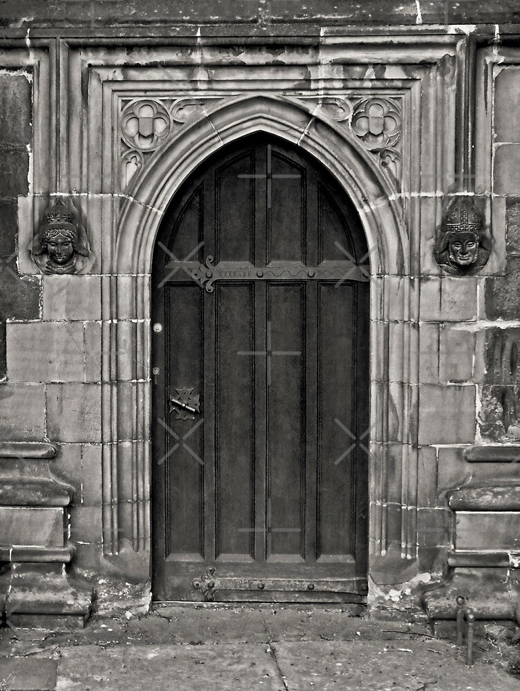 Door of St Marys by Yampimon