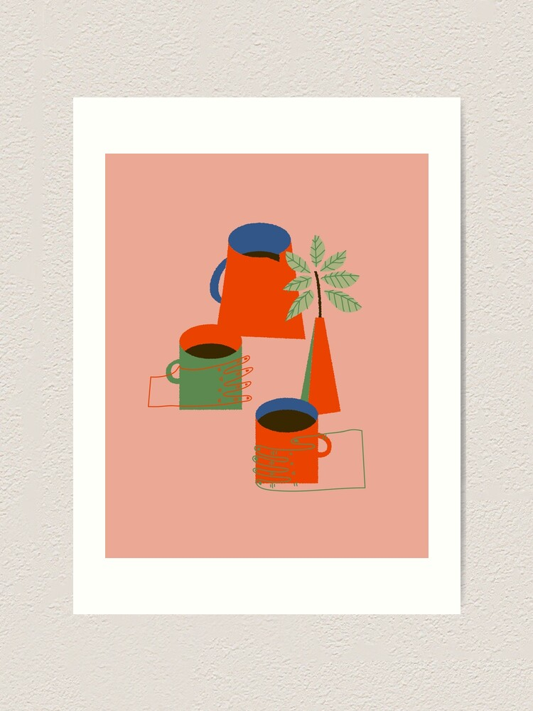 Alternate view of Morning Coffee Art Print