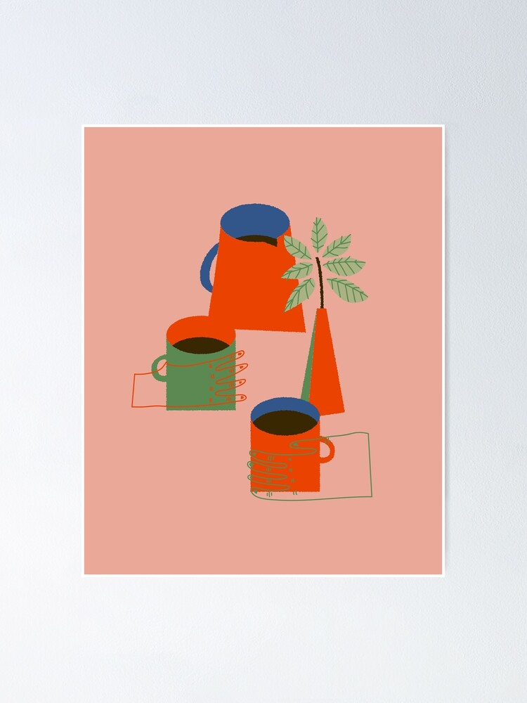 Alternate view of Morning Coffee Poster