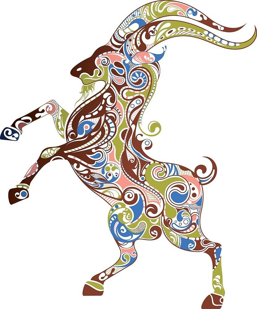 Animal Capricorn by Rocking-Jewel