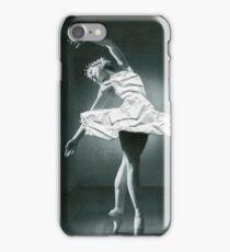 Paper ballerina  iPhone Case/Skin
