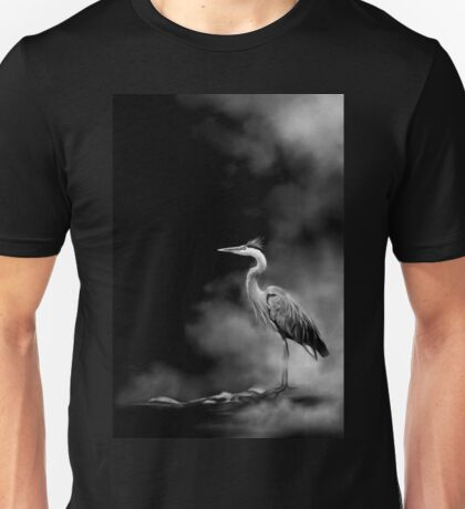 Heron in the Mist T-Shirt