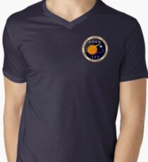 Ares 3 mission to Mars - The Martian (Badge) Men's V-Neck T-Shirt