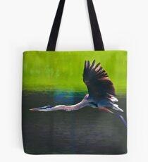 Heron in Flight Tote Bag