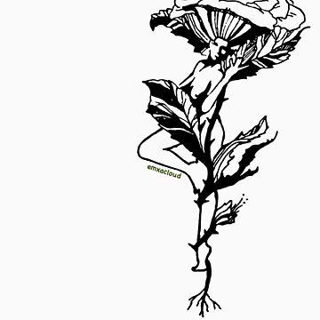 Rose Nymph by emxacloud