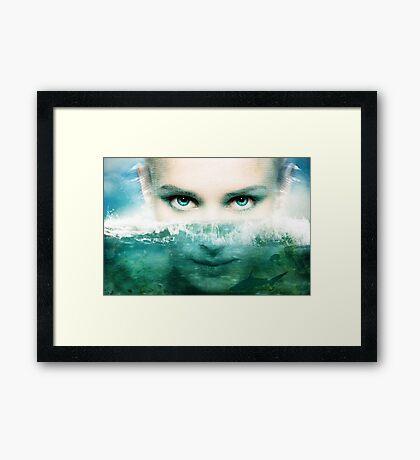 Dissembling - Deep Water Framed Print