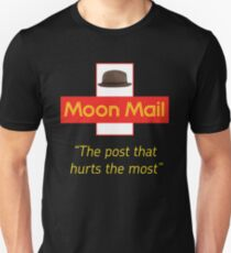 The Mighty Boosh – Moon Mail Service Unisex T-Shirt