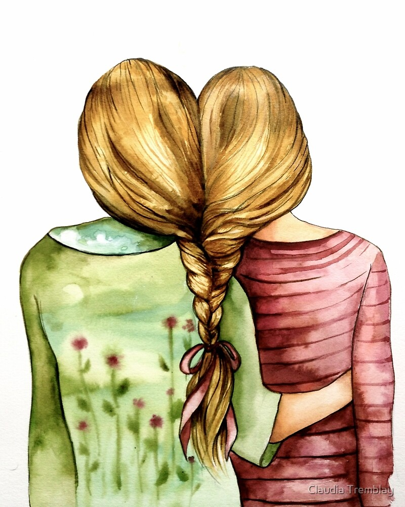 best friends by Claudia Tremblay