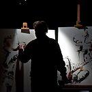 Art performance2 by Philip Gaida