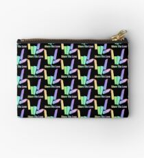 Share The Love Rainbow Zipper Pouch