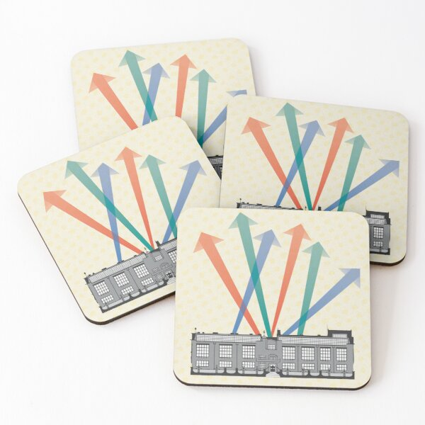 Glasgow Art School Coasters (Set of 4)