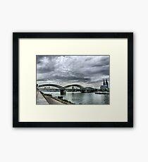 The Hohenzollen Bridge  Framed Print