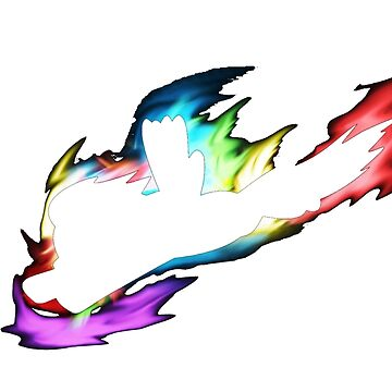 rainbow dash silhouette by Preyn