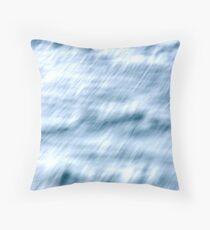 The Rushing Sea Throw Pillow