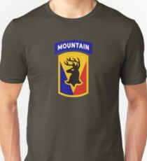 86th Infantry Brigade Combat Team 'The Vermont Brigade' (Mountain) US Army T-Shirt