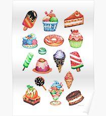 Paradis des desserts Poster