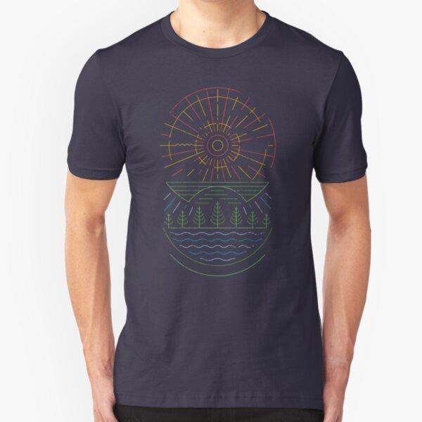 Summer Sun Slim Fit T-Shirt