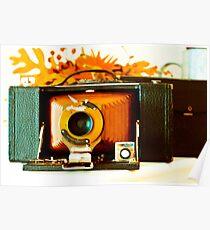 Kodak 3-A Folding Brownie Poster