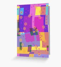 Blocks and Dots Greeting Card