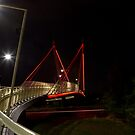 PEDESTRIAN BRIDGE by Joe Powell