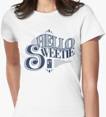 Hello Sweetie Women's Fitted T-Shirt