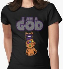 Thanos  Womens Fitted T-Shirt