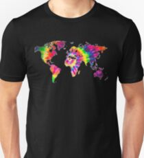 Tye Dye World  T-Shirt